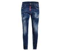 Destroyed-Jeans Extra Slim Fit