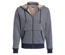 Sweatjacke SCOTT - navy/ weiss