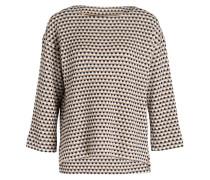 Pullover MABELA - weiss/ beige/ schwarz