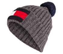 Grobstrick-Mütze