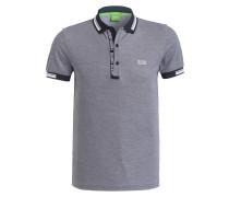 Piqué-Poloshirt PAULE Slim-Fit - blau