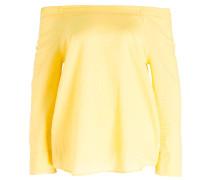 Carmenbluse - gelb