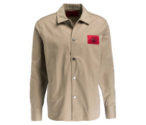 Overshirt Regular-Fit - beige