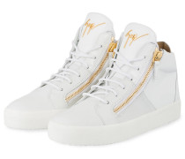 Hightop-Sneaker BIREL - WEISS/ GOLD