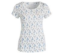 T-Shirt TREFLE - weiss/ blau