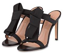 Sandaletten BOW TIE - schwarz
