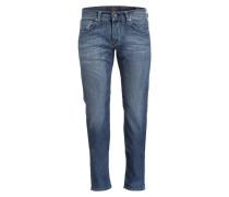Jeans JOHN Slim-Fit - blau