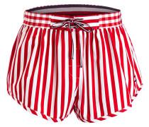 Shorts GINGHAM - rot/ weiss gestreift