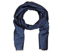 Seidenschal - blau
