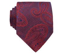 Krawatte - rot/ blau