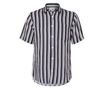Kurzarm-Hemd ERRICO mit Leinen