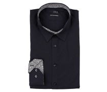 Hemd Extra Slim-Fit - schwarz