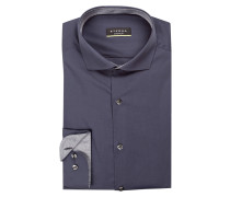 Hemd Super Slim-Fit - blaugrau