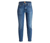 Mom-Jeans - navy