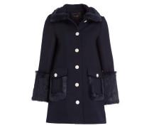Mantel GRAM - blau