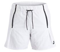 Shorts BONDED - weiss/ schwarz