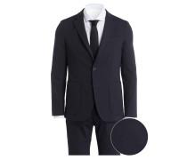 Jersey-Anzug THFLEX Slim-Fit - blau