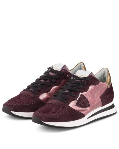 Sneaker TRPX - ROSÉ/ DUNKELROT/ GOLD