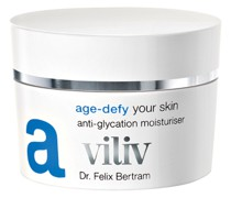 A – AGE-DEFY YOUR SKIN 50 ml, 135 € / 100 ml
