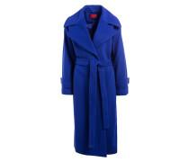 Oversize-Mantel - blau