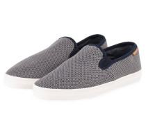 Slip-on-Sneaker VIKTOR - navy/ hellblau