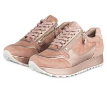 Plateau-Sneaker CAT - rosa