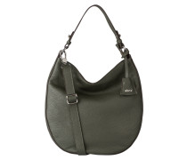 Hobo-Bag - dunkelgrün