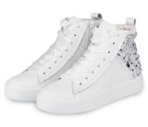 Hightop-Sneaker UP mit Schmucksteinbesatz