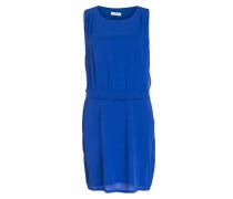 Seidenkleid - blau