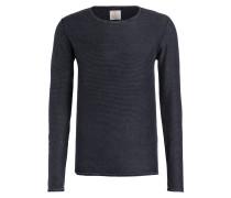 Pullover - marine/ hellblau