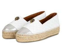 Espadrilles MORELLA EAGLE - WEISS/ SILBER