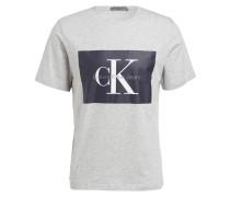 T-Shirt TIKIMO - hellgrau meliert