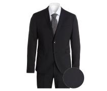 Anzug CIPULETTI Super Slim-Fit - schwarz