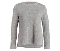 Sweatshirt TUSWEAT - grau/ schwarz meliert