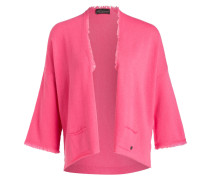 Strickhülle mit Cashmere-Anteil - pink
