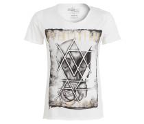 T-Shirt - creme meliert