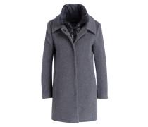 Mantel CILINA - grau
