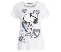 T-Shirt mit Strassteinbesatz