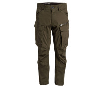 Cargohose ROVIC ZIP 3D Tapered-Fit - grün