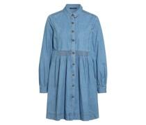 Hemdblusenkleid in Jeansoptik