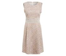 Tweed-Kleid mit Glitzergarn