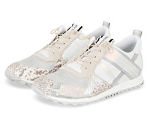 Sneaker - WEISS/ CREME/ SILBER