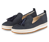 Tassel-Slipper - blau