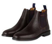 Chelsea-Boots RICARDO - dunkelbraun