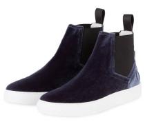 Chelsea-Sneaker ERIN-VT aus Samt - blau