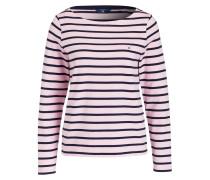 Pullover - rose/ dunkelblau