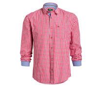 Trachten-Hemd ANTON - rot