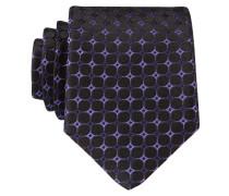 Krawatte - violett/ schwarz