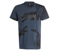 T-Shirt BONDED - navy/ schwarz