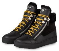 Hightop-Sneaker MAY LONDON - SCHWARZ